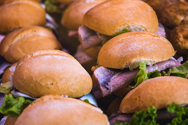 Range of Sandwiches available for meeting room hire